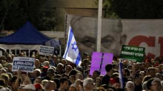 تظاهرات در تلآویو