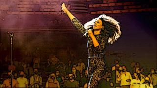 Illustration of Beverley Knight gig