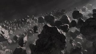 صخور في الفضاء