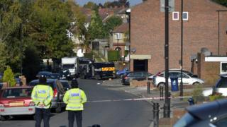Police at scene of stand-off in Northolt
