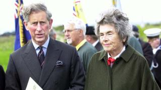 Prince Charles and Countess Mountbatten