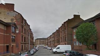 Northpark Street in Glasgow