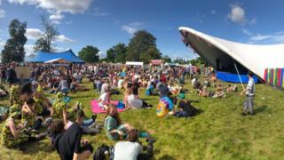 Doune the Rabbit Hole Festival on Saturday