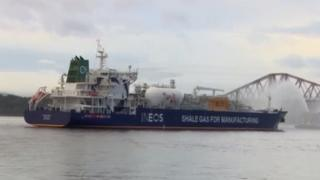 Ineos ship carrying US shale gas to Scotland