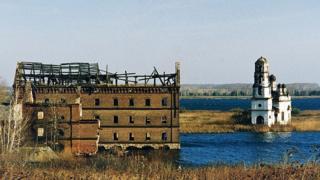"""один из поселков, брошенных после катастрофы на """"Маяке"""""""