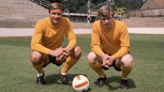 (R-L) Ron and Graham