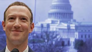 Mark Zuckerberg by Capitol Hill