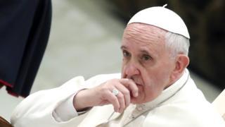 Umwungere wa Ekleziya Gatolika, Papa Francis