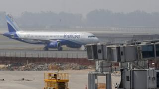 İndigo havayollar uçağı