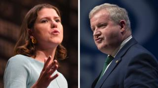 Jo Swinson and Ian Blackford