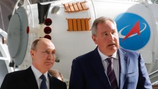 Путин и Рогозин
