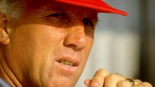 L'ancien joueur et entraineur de Liverpool, Ronnie Moran, est décédé mercredi à l'âge de 83 ans (photo prise en juillet 1991)