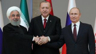 پوتین، اردوغان، روحانی