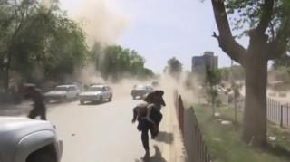 انفجار دوم در میان خبرنگاران رخداد