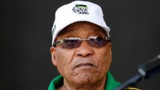 صورة الرئيس جاكوب زوما