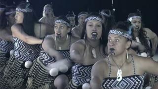 Kapa haka performers