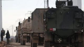 Türk askeri konvoyu
