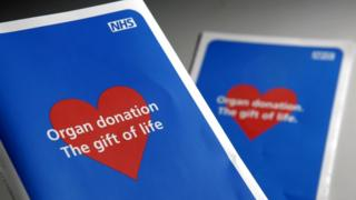 organ donation leaflets