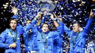'Yan wasan Argentina da suka dauki kofin Davis a 2016