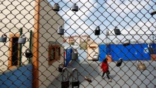 забор тюрьмы