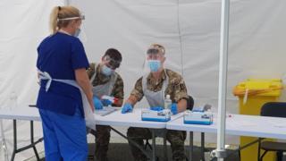 , Coronavirus: Wrexham virus cases 'lower than expected'