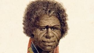 A painting of King Bungaree