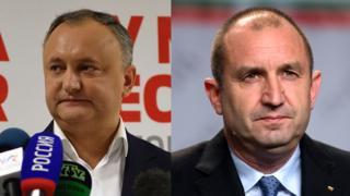 Игорь Додон и Румен Радев