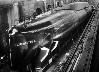 Перша атомна субмарина Франції