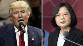 Trump, Tayvan Cumhurbaşkanı Tsai Ing-wen ile telefonda görüştü