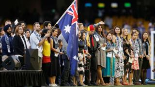A citizenship ceremony takes place in Melbourne in January