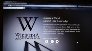 Вікіпедії