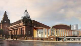 Artists impression of the new-look Kelvin Hall