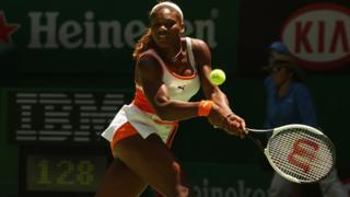At the 2003 Australian Open, Serena won the 'Grand Slam' - being the champion of all four Grand Slam competitions at the same time. She did it for a second time in 2014-2015.