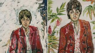 Paul McCartney portraits