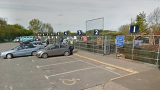 Netley, Grange Road recycling centre