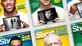 ShortList covers