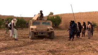 نیروهای ویژه طالبان به سلاحهای مدرن و تجهیزات خوبی مسلح هستند