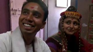 લગ્નની તસવીર