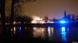 Chiswick fire