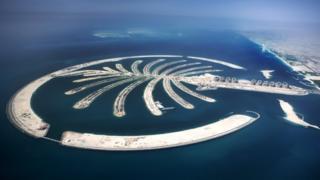 Kepulauan Palm Jumeirah buatan Dubai