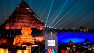 Le tirage au sort de la 32e CAN se tient ce 12 avril 2019 au pied des Pyramides de Gizeh, à quelques kilomètres au sud-ouest du Caire.
