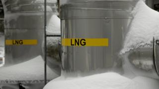 US liquefied natural gas terminal in Lusby, Maryland