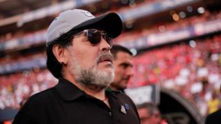 Diego a été nommé jeudi entraîneur de la Gimnasia La Plata, un modeste club du championnat argentin.