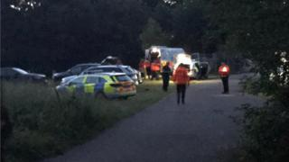 Emergency services at scene