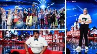The three young golden buzzer acts