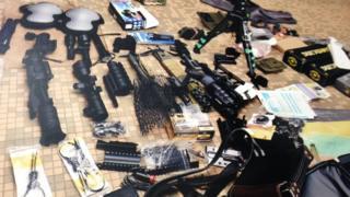armes Cameroun