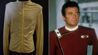 James T Kirk and shirt
