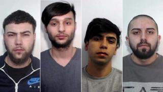 Parizian Calin, Adrian Calin, Sebastian and Ilie Baltatu