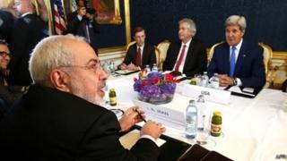 Sawir hore, Wadahadalka nuclear-ka Iran