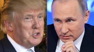 Donald Trump dan Vladimir Putin